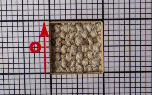 konopná tkanina/přírodní tmavá barevnost/NÚLK/13970_d