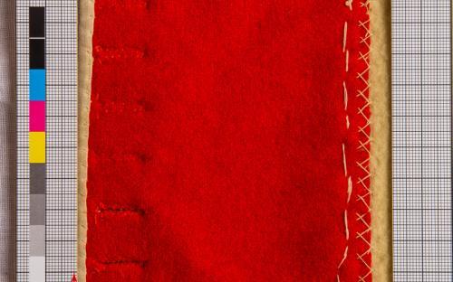 harasová tkanina/čerevená/NÚLK/2384_b
