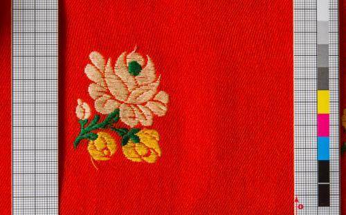 harasová tkanina/červená/NÚLK/5425_b