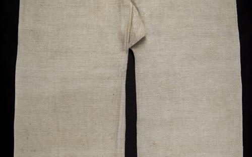 konopná tkanina/přírodní tmavá barevnost/NÚLK/7989_a