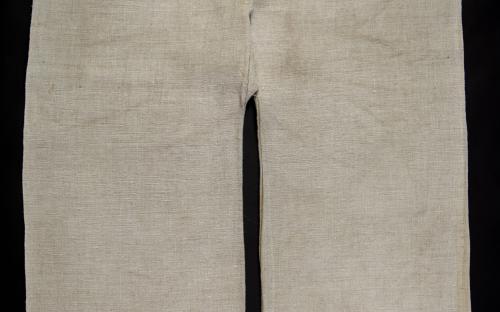 konopná tkanina/přírodní tmavá barevnost/NÚLK/7989_b